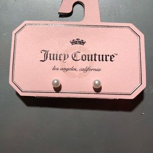 NWT Rare Juicy Couture Pearl Earrings